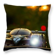 Speed 8 At Sunset Throw Pillow
