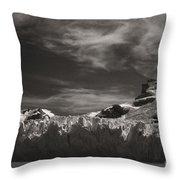 Spegazzini Glacier Argentina Throw Pillow