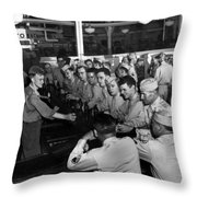 Spending Time At The Px Throw Pillow