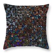 Spex Affirm Abstract Art Throw Pillow