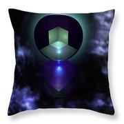 Spheramid 9  Throw Pillow