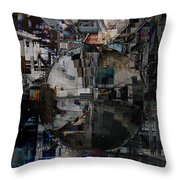 Sphere And Reflections Throw Pillow