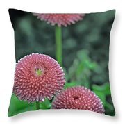 Sphere Of Pink Throw Pillow