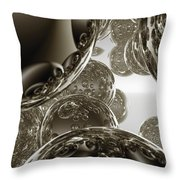 Spheres, No. 3 Throw Pillow