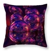 Spheres, No. 5 Throw Pillow