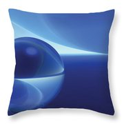 Spheres, No. 9 Throw Pillow