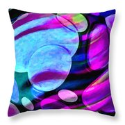 Spheres Of Influence Throw Pillow
