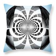Spheroid Throw Pillow