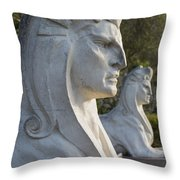 Sphinxes Throw Pillow