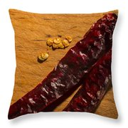 Spice It Up Throw Pillow
