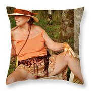 Spiced Accents Throw Pillow