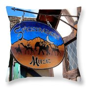 Spicetrader Music Throw Pillow