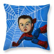 Spider-man Alan Throw Pillow