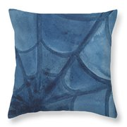 Spiders Web  Throw Pillow