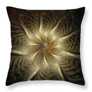 Spidery Throw Pillow