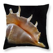Spike Throw Pillow by Jean Noren