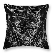 Spikes Of Nature Throw Pillow