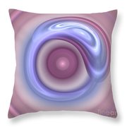 Spilled Silk Throw Pillow