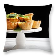 Spinach Pie Throw Pillow