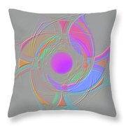 Spinners 6 Throw Pillow