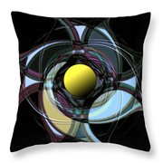 Spinners 9 Throw Pillow