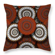 Spinning In Harmony  Throw Pillow by Mike McGlothlen