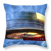Spinning Up The Universe Throw Pillow