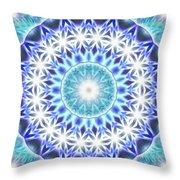 Spiral Compassion K1 Throw Pillow by Derek Gedney
