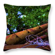 Spiral Cones Throw Pillow