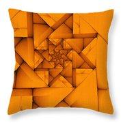 Spiral Form Throw Pillow