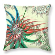 Spiral Garden Throw Pillow