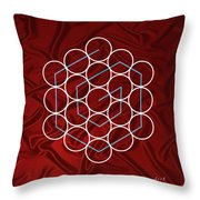 Spiral Of Evolution Expand Your Perception  Throw Pillow