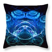 Spiral Percussion Throw Pillow