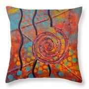 Spiral Series - Timber Throw Pillow