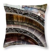 Spiral Staircase No4 Throw Pillow