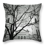 Spire Tree Throw Pillow