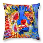 Spirit Beast Throw Pillow