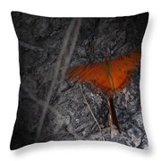 Spirit Butterfly Throw Pillow by Ella Char