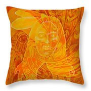 Spirit Fire Throw Pillow