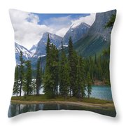 Spirit Island Morning Throw Pillow