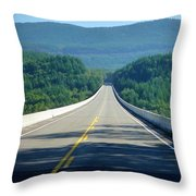 Spirit Lake Memorial Journey Throw Pillow