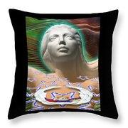 Spirit Mother Throw Pillow