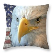 Spirit Of America Throw Pillow