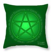 Spirit Of Earth Throw Pillow