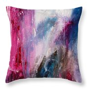Spirit Of Life - Abstract 2 Throw Pillow