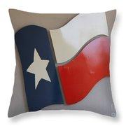 Spirit Of Texas Throw Pillow