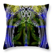 Spirit Of The Dragon Throw Pillow by Christopher Gaston