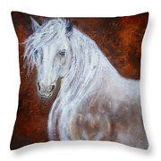 Spirit Of The Heart Throw Pillow
