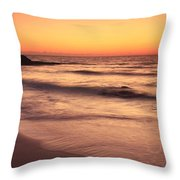 Spirit Of The Maya Seascape Throw Pillow