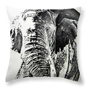 Spirit Of The Serengeti Throw Pillow
